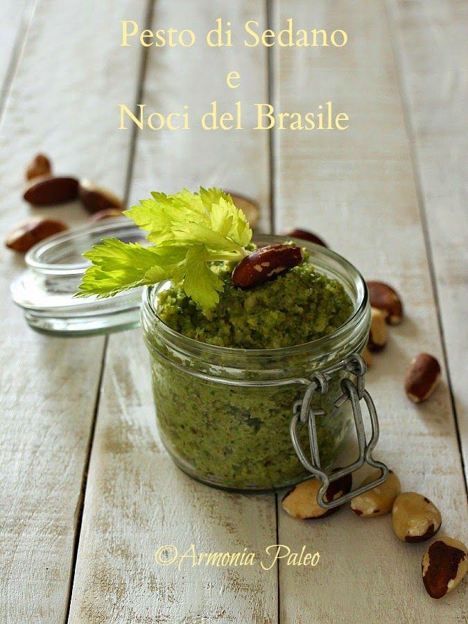 Armonia Paleo: Pesto di Sedano e Noci del Brasile