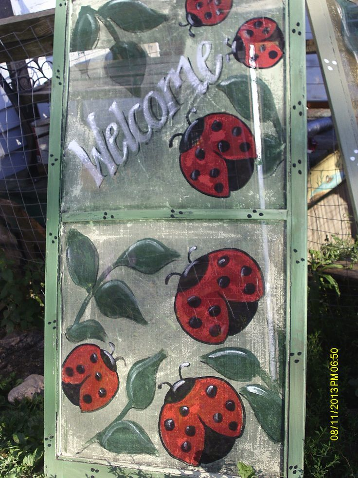 painted screen sells for $25.00