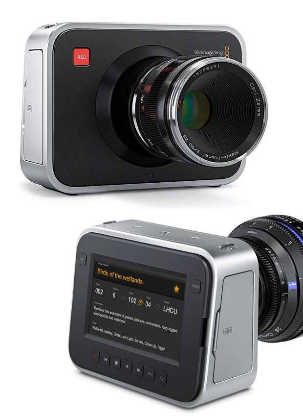 Blackmagic Cinema Camera for the aspiring videographers $2995