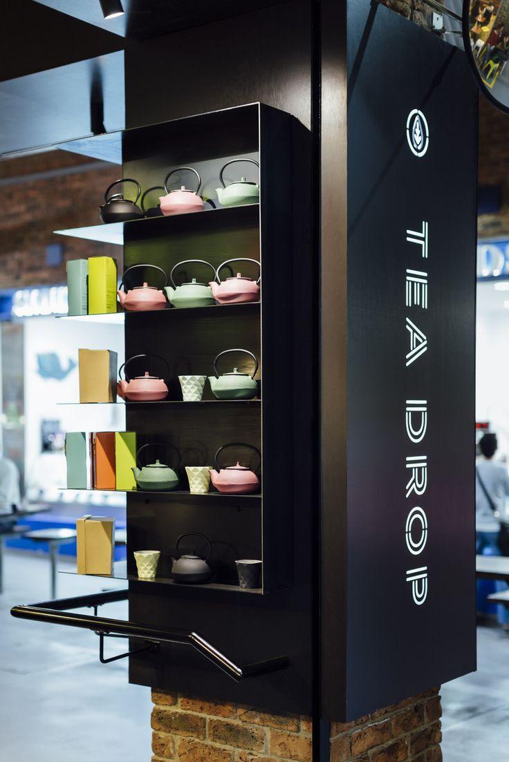 Tea Drop, South Melbourne Market designed by ZWEI Interiors Architecture