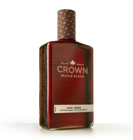 #label #packagingCrowns Packaging, Studios Mpls, Package Design, Packaging Design, Syrup Packaging, Graphics Projects, Crowns Bottle 1, Maple Syrup, Crowns Maple