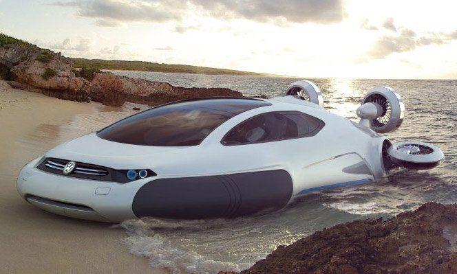 O designer chinês de 21 anos apenas Yuhan Zhang, criou um carro conceito para a Volkswagen que usa hidrogênio como combustível, sem rodas funcionando como um hovercraft e propulsores para fazer o carro andar e já está chamando a atenção da montadora. O melhor desse tipo de transporte hovercraft é que ele pode andar na terra, asfalto e água com a mesma performance.Esse designer é uma prova viva para os estudantes que é possível se destacar rápido, mas precisa se esforçar e fazer muito mais…