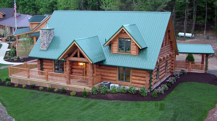 People Love The 1 1 2 Story Indian Lake Log Cabin