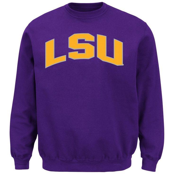 LSU Tigers Louisiana State Classic Crew Sweatshirt