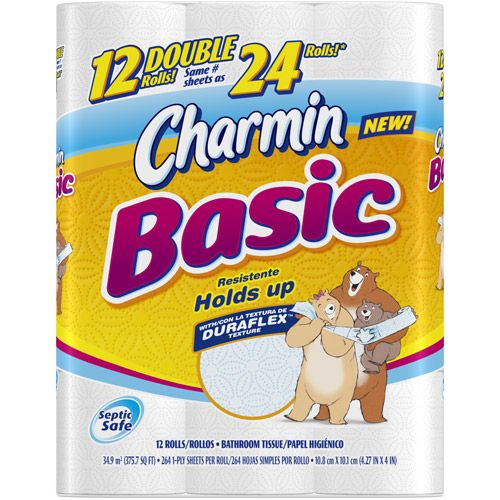 $.75/1 Charmin Bath Tissue Coupon = $3.88 for 12-Pack Double Rolls at CVS! -
