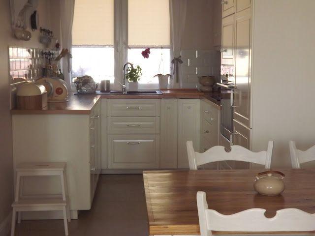 meble ikea białe  Szukaj w Google  Międzyzdroje inspiracje  Pinterest  Ik   -> Kuchnia W Kolorze Mietowym
