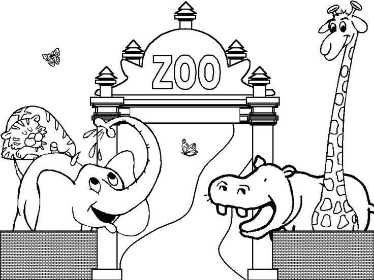 animal coloring free preschool coloring pages zoo animals free preschool coloring pages zoo animalsfull - Preschool Coloring Pages Animals