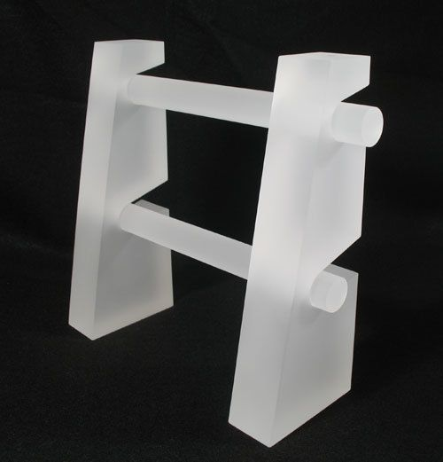 Aftosa - Frosted Double Bar Display, $7.99 (http://www.aftosa.com/frosted-double-bar-display/)