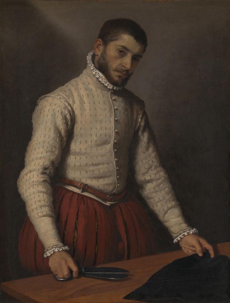Giovanni Battista Moroni, The Tailor, 1570-5.