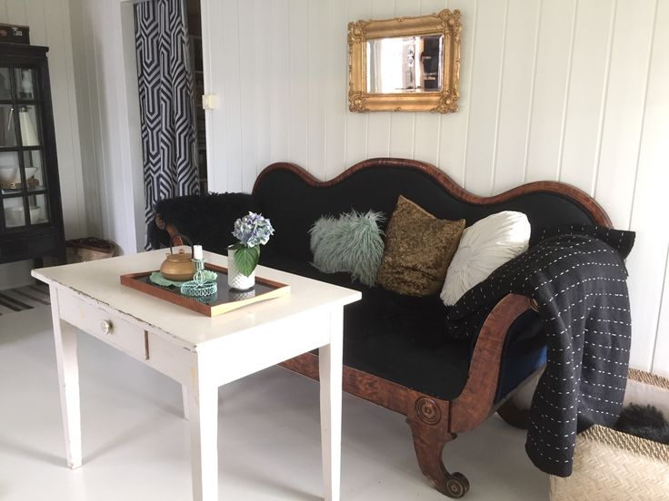 Gammel sofa