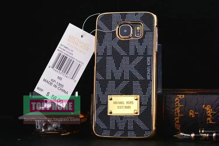 Michael Kors Samsung Galxy S7 Edge Cases Black :: Michael Kors Galxy S7 Edge Cases Covers Sleeve Coque Fundas Capa Para