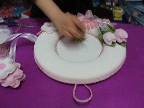 bebek kapı süsü yapımı ders2 - YouTube