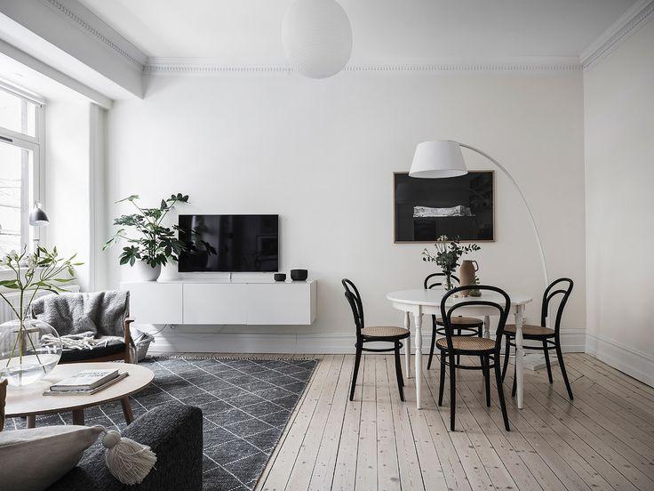 wohnzimmer weiß grau. die besten 25+ sideboard schwarz weiß ideen ... - Wohnzimmer Ideen Schwarz Weis