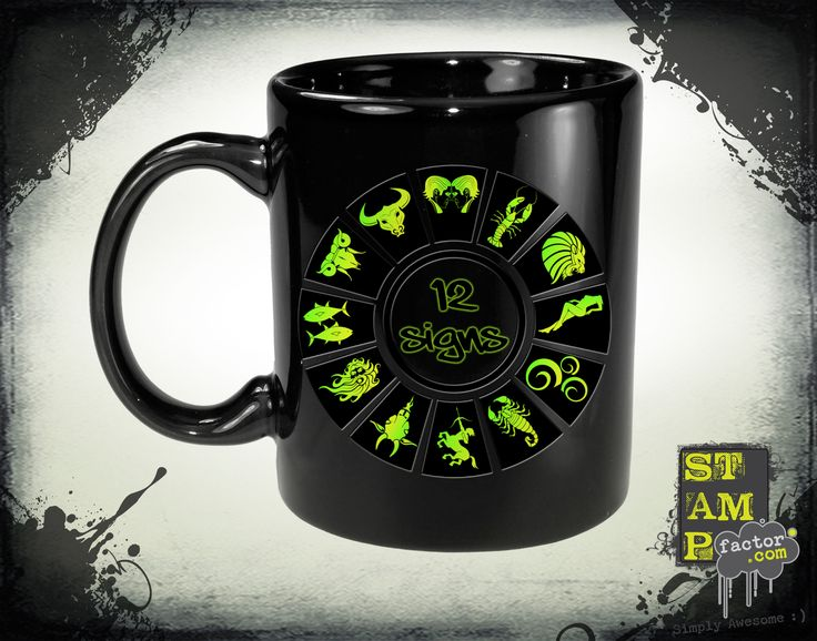 12 Signs (Version 05) 2015 Collection - © stampfactor.com *MUG PREVIEW*