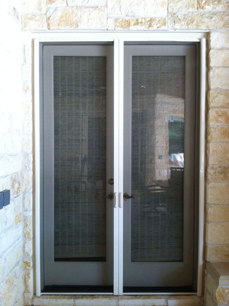 Custom Size Vinyl Screen Doors