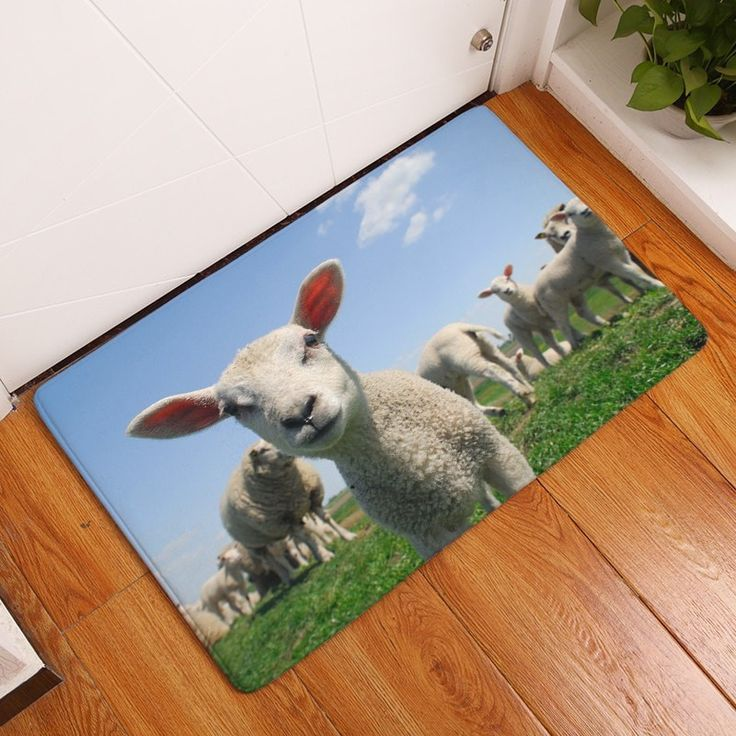 Animal Magic - Have a Nice Day Mary!  #picotagio #gifts #floorart