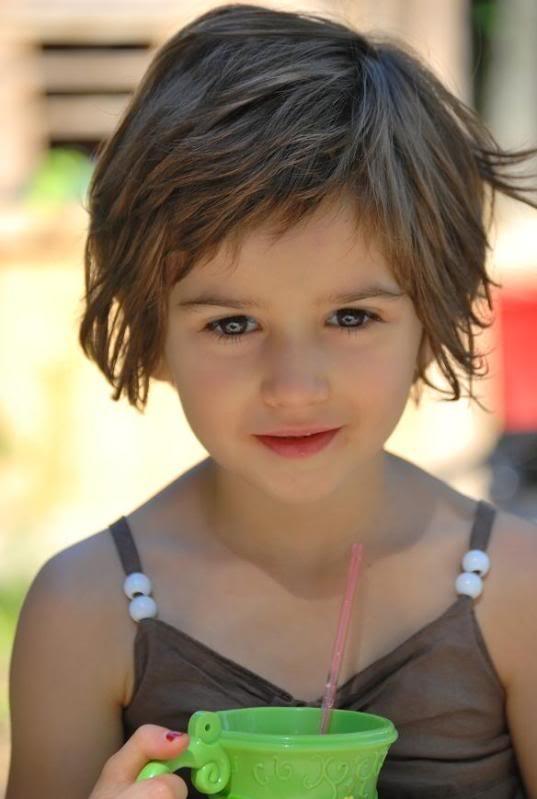 Coiffures pour enfants cheveux courts 5 ans