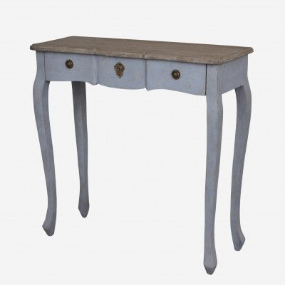 Redcurrent Dove Grey Duchesse Console Table $395.00.