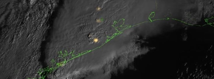 First lightning detector in a geostationary orbit
