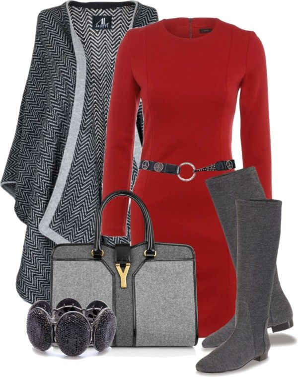 red and grey ♥✤