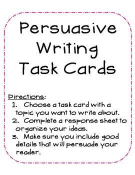 naplan persuasive writing marking guide