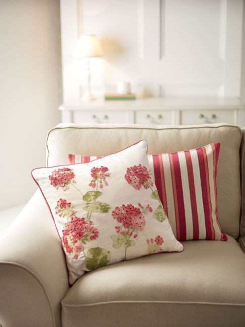 Laura Ashley Geranium Cushion