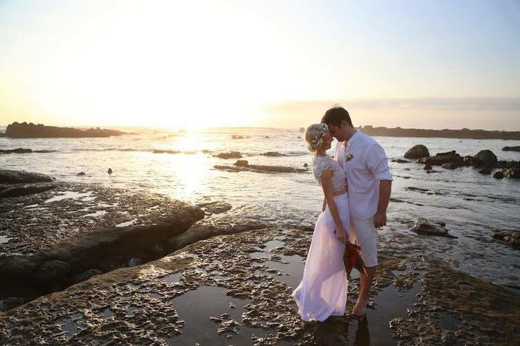 Wedding by the ocean, happiness moments... :)