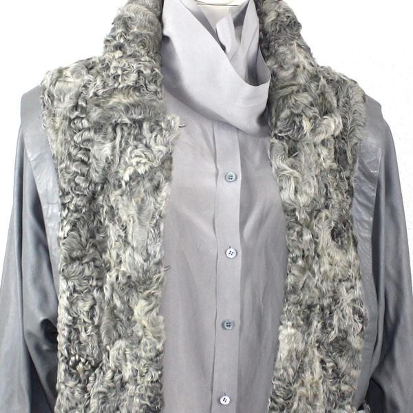 Astrakhan Leather Jacket