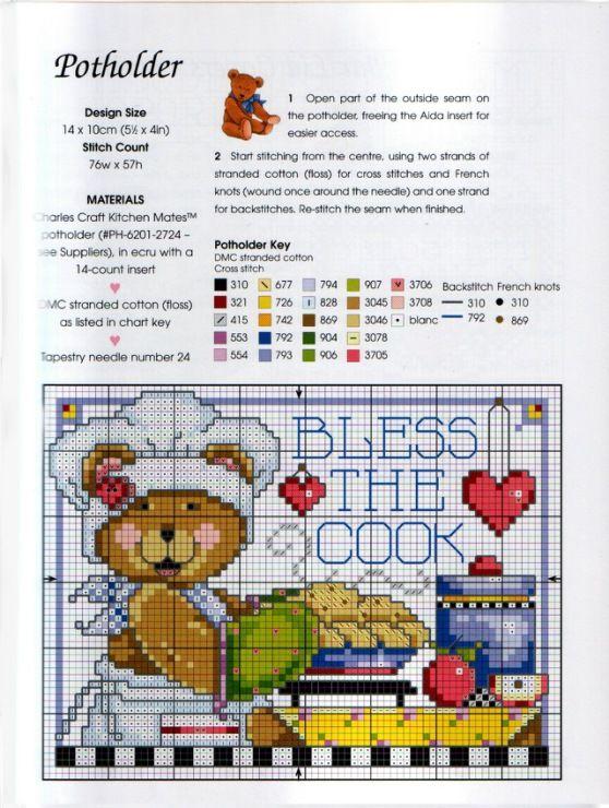 Gallery.ru / Фото #21 - Cross Stitch Teddies - KIM-2