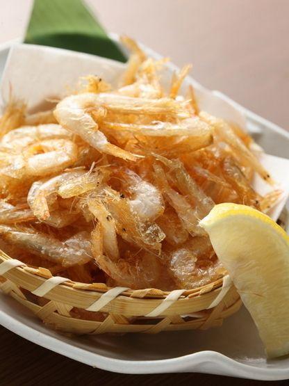 Fried Japanese Glass Shrimp from Toyama 白エビ唐揚げ
