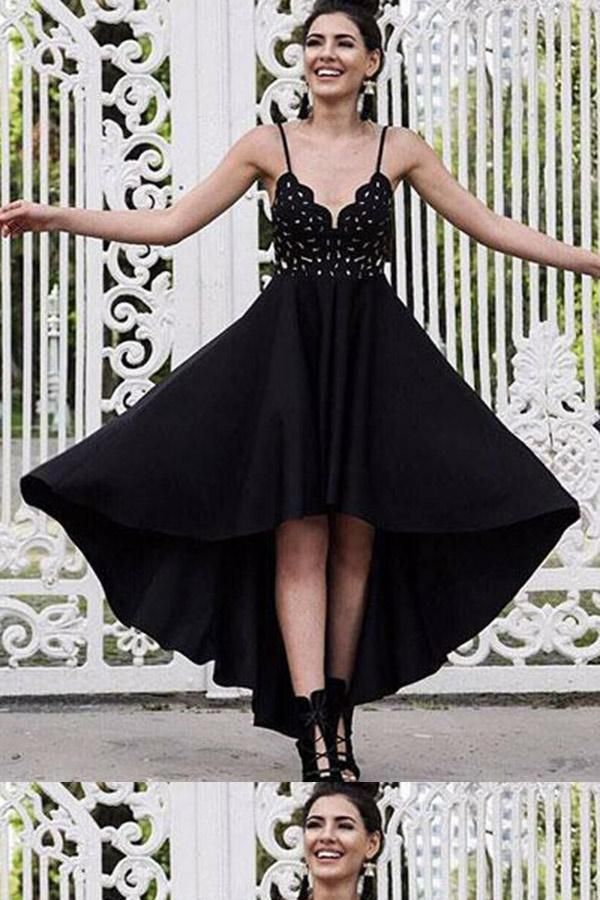 c89efe75cc Hot Sale Admirable Lace Black Homecoming Dress