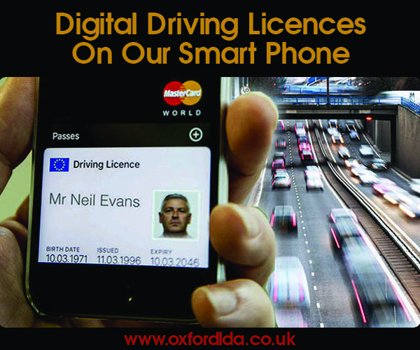 Digital driving licence trials begin this month in the UK and here's what it means for you: https://goo.gl/xMMRWt
