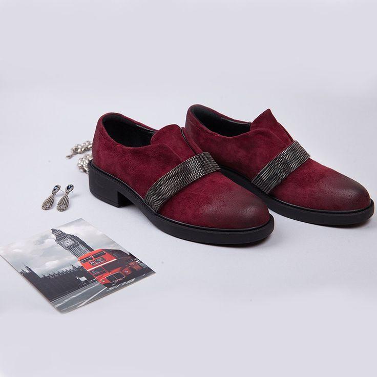 бордовые туфли замшевые 2017