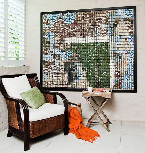 Elisa Bartels Ceramic Designs floating mosaic