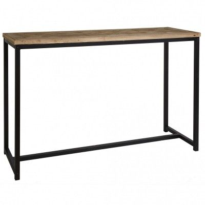 Rasa Parquetry Top Console Table