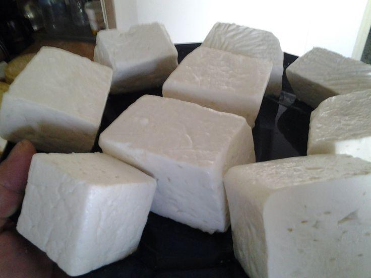 """Φτιάχνω τυρί φέτα #1""""Homemade cheese Greek feta"""""""