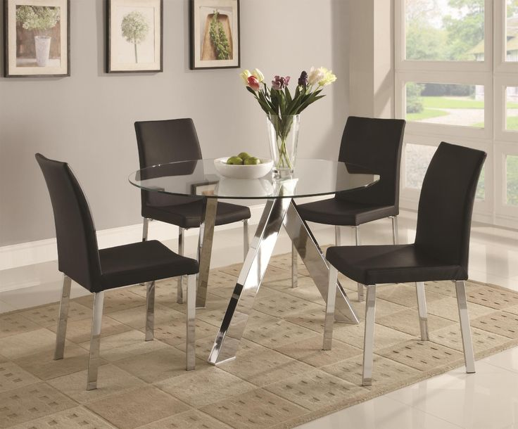 Modern Glass Dining Room Table 112 best dining room images on pinterest | dining tables, dining