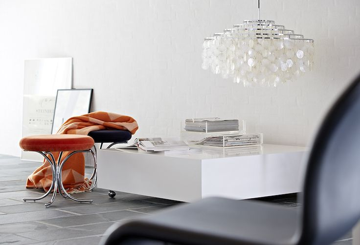 Modular Chairs with VP Throw, System 1-2-3 Dining Chair  Danish Interior Design Budapest