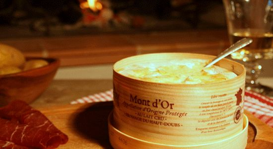 Mont d'Or Cheese, the only French cheese you eat with a spoon. So French it should be carrying a baguette and wearing a beret. How to bake and eat it!