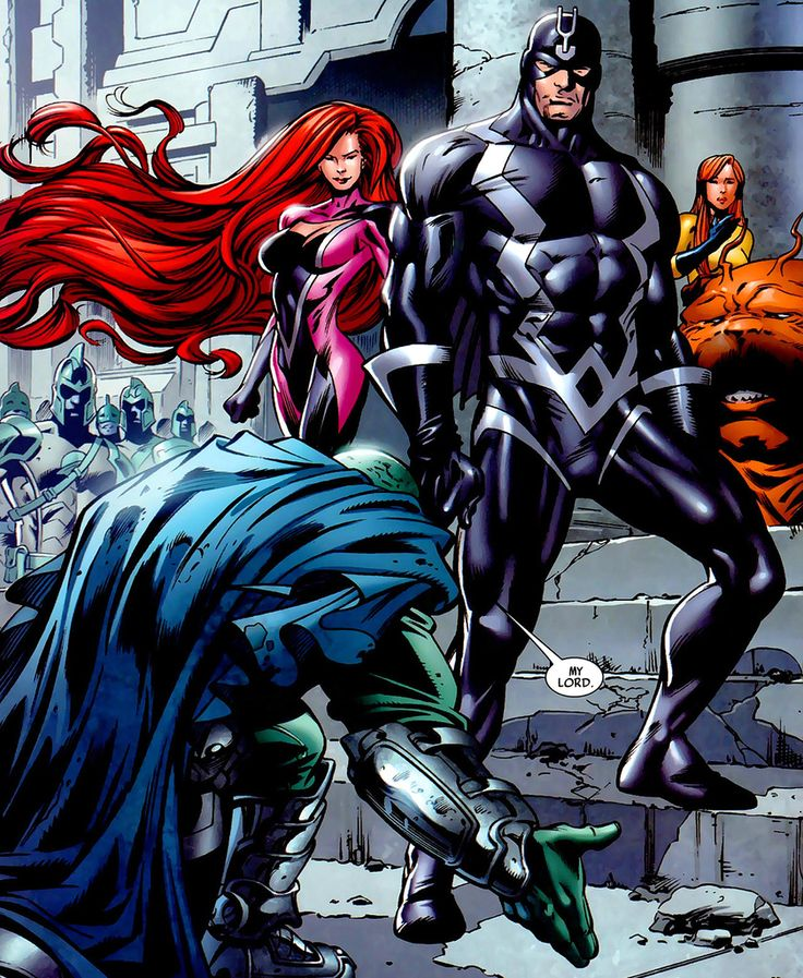 inhumans comic | The Inhumans Comic Book Panel | BeyondHollywood.com