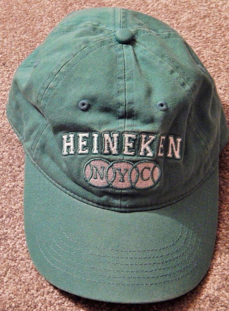 US OPEN TENNIS 2012 HEINEKEN GREEN BASEBALL CAP, UNIVERSAL FIT; BRAND NEW #SOLANGELES