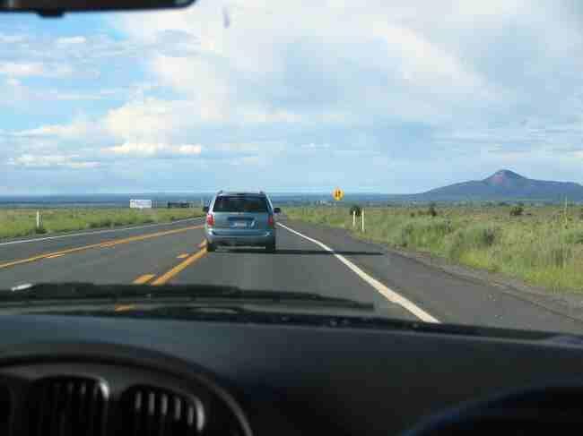Llegando en coche al Gran Cañón del Colorado - Arizona