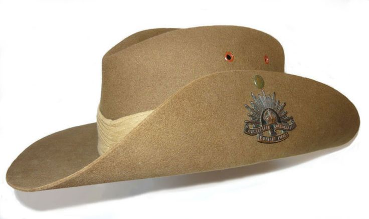 Australian Army WWII style slouch hat