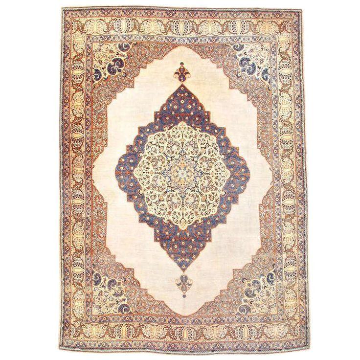 Kilim Rug John Lewis: Elegant Tabriz Carpet In 2019