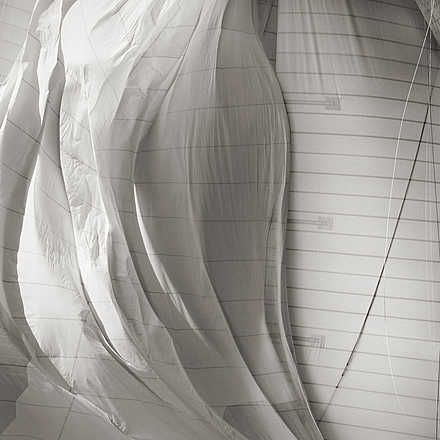 Jonathan Chritchley, Sail of Mariette, 2008 / 2010 © www.lumas.com/ #Abstract #Blackandwhite #black-and-white #Boat #Boats #graphic #Line #Lines #minimalistic #Photography #Sail #Sailboat #Sailboats #Sails #Sport #Water #Wind #Lumas