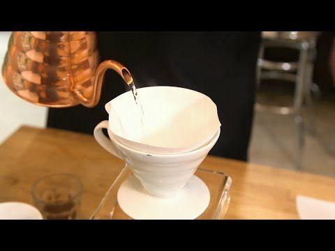 Purer Genuss - Kaffee mit dem Handfilter aufbrühen! - YouTube