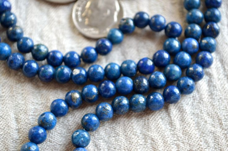 A personal favorite from my Etsy shop https://www.etsy.com/listing/174147738/108-lapis-lazuli-handmade-mala-beads