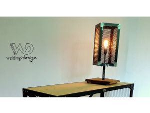 Lampe nature : Wood and steel