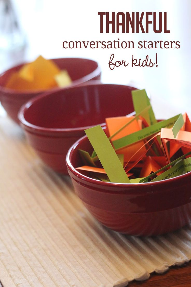 10 simple Thanksgiving conversation starters for kids