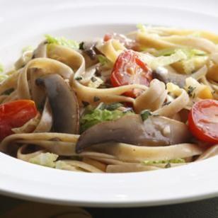 Alpine Mushroom Pasta Recipe